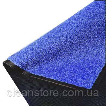Бронкс Нейлоновый грязезащитный коврик. 60*90 синий