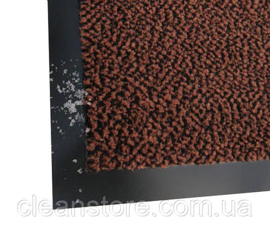 Ламбет Полипропиленовый грязезащитный коврик 60*90, коричневый, фото 2