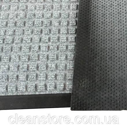 Грязезащитный коврик Ватер-Холд (Water-hold), 60*90 серый, фото 2