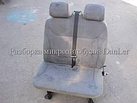 Сиденье переднее правое двойное Рено Трафик б/у (Renault Trafic II)