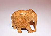 Слоник, ручная работа, дерево, Индия