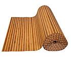 "Бамбуковые обои ""Зебра коричневая 1+1"", 2 м, ширина планки 17/5 мм / Бамбукові шпалери, фото 4"