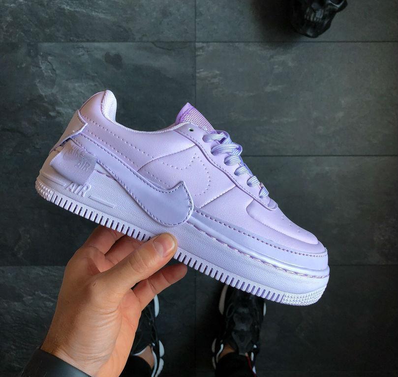 finest selection 9a306 05b1b Nike Air Force 1 Jester XX 'Violet Mist'   кроссовки женские; сиреневые;  кожаные; осенние/весенние