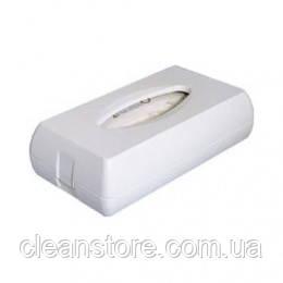 Держатель косметических салфеток пластик белый, фото 2