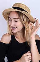 Канотье Famo Шляпа канотье Бриони песочная - 137202