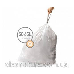 Мішки для сміття щільні з зав'язками 50-65л SIMPLEHUMAN CW0264, фото 2
