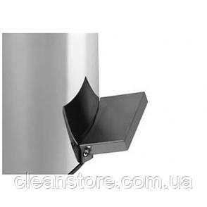 Урна з нержавіючої сталі з педаллю,40 л,глянець, фото 2
