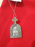 Серебряная иконка Св Николая Чудотворца