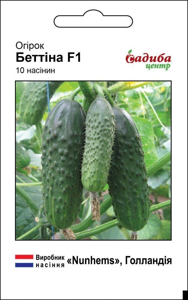 Семена огурца Беттина F1, Nunhems 10 семян (Садыба Центр)
