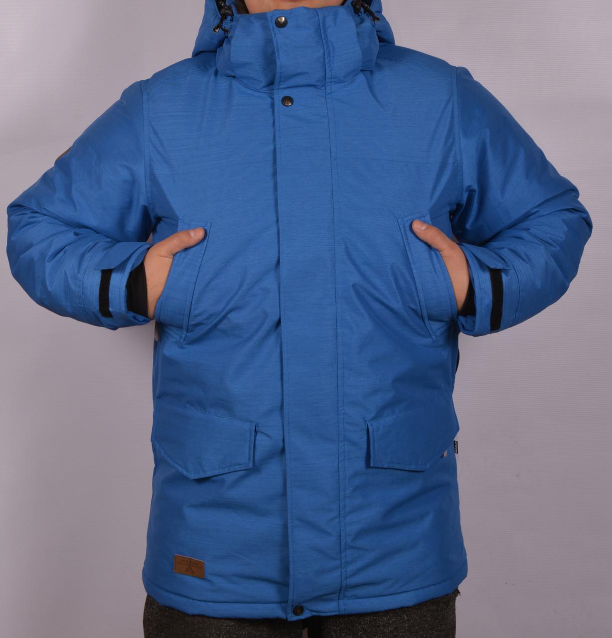 Зимняя горнолыжная куртка достойный аналог Columbia Omni-Tech с отражателем