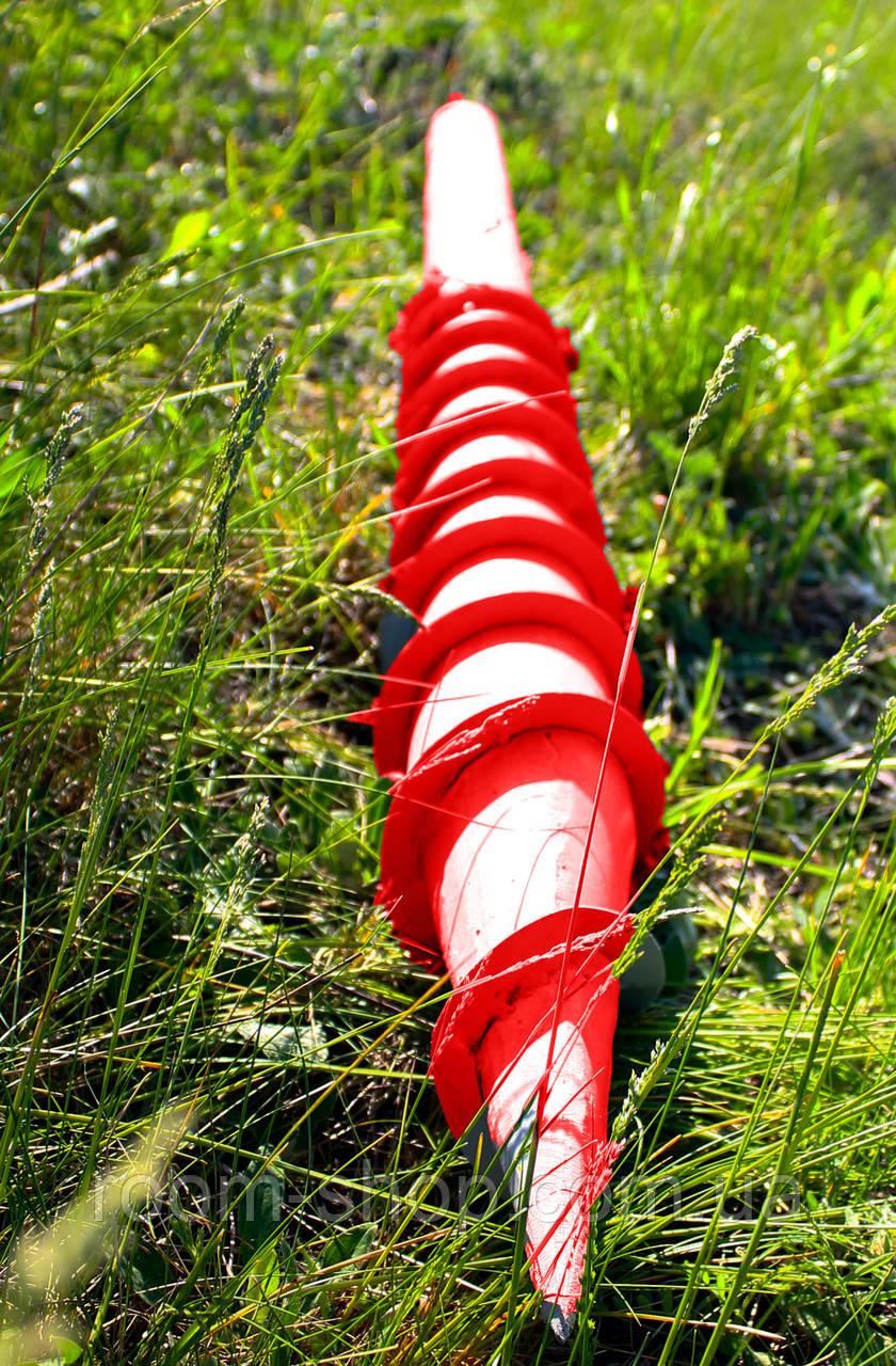 Многовитковая свая винтовая (паля) диаметром 133 мм длиною 2 метра