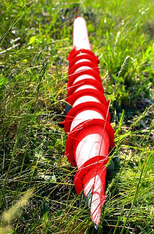 Многовитковая свая винтовая (паля) диаметром 133 мм длиною 2 метра, фото 2
