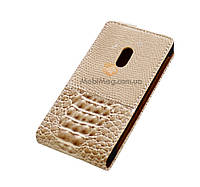 Чехол-флип чешуя Top case Samsung  i9220 Galaxy Note II beige