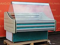 Низькотемпературна вітрина (морозильна) «Технохолод» 1.3 м. (Україна), 0...-18 градусів, Б/в, фото 1