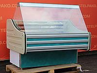 Низкотемпературная витрина (морозильная) «Технохолод» 1.3 м. (Украина), 0…-18 градусов, Б/у, фото 1