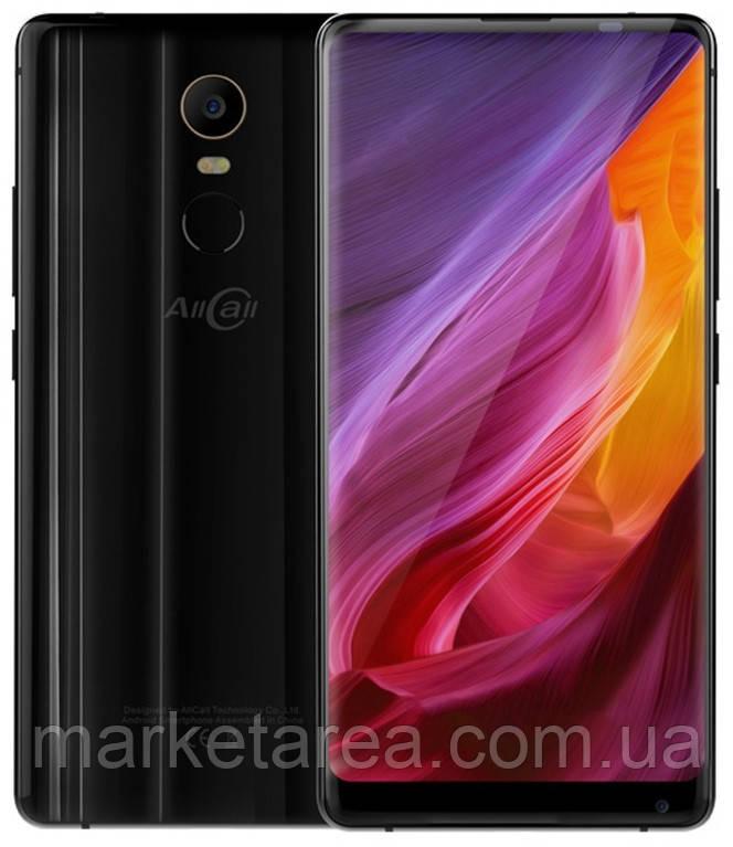 Смартфон черный с большим дисплеем с хорошей камерой на 2 сим карты Allcall Mix 2 black 6\64gb