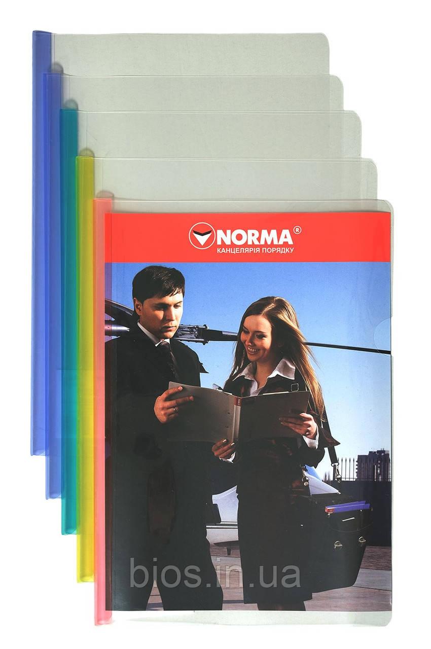 Папка А4 з планкою-затиском 7 мм (40 арк.) 5622 NORMA