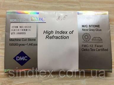 Клеевые камни DMC SS 10 № CRYSTAL AB US101 AB