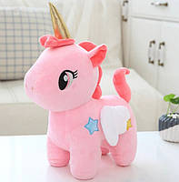 Мягкая игрушка Единорог розовый 24см