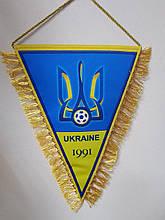 Вимпел тканинної з бахромою Україна