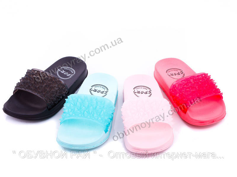 65bf0245e Детские яркие шлёпанцы для девочек оптом от ТМ. Lion (рр. с 25-30 ...