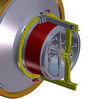 Восстановление рабочей поверхности цапф шаровых мельниц без демонтажа