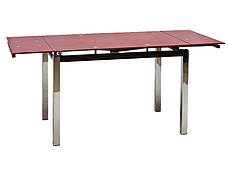 Стол ТВ 017 (без узора) (красный), фото 3