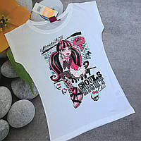 Трикотажная футболка для девочки 12 лет, рост 152 см.