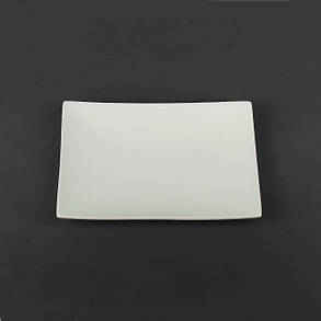 Тарелка прямоугольная белая Helios 300х200 мм (HR1179), фото 2
