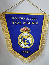 Вимпел тканинної з бахромою Real Madrid FC
