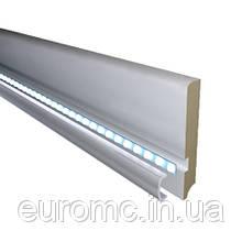 Плинтус с подсветкой LED 16х100мм