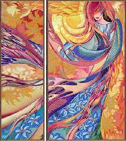 Набор для вышивки бисером Осенний вальс НД 6559