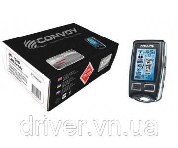 Сигналізація автомобільна CONVOY MP-100D, двостороння (+CAN )
