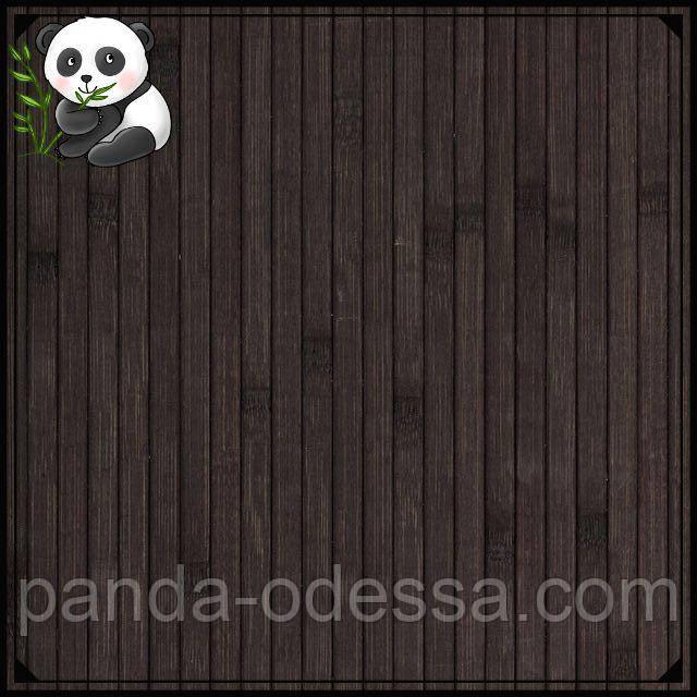 """Бамбуковые обои """"Венге"""", 0,9 м, ширина планки 8 мм / Бамбукові шпалери"""