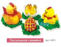 """Пасхальный декор """"Пасхальная семейка"""" Добрик уп21"""
