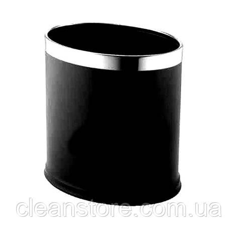 Двошарова кошик для сміття овал, фото 2
