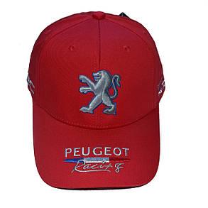Бейсболка Classic Peugeot красная (31804-92), фото 2