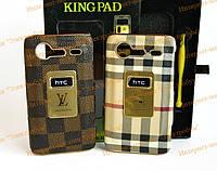 Накладка KingPad HTC S510e Desire S Gucci Brown Classic