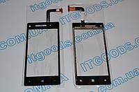 Оригинальный тачскрин / сенсор (сенсорное стекло) для HTC Windows Phone 8X (черный цвет) + СКОТЧ В ПОДАРОК