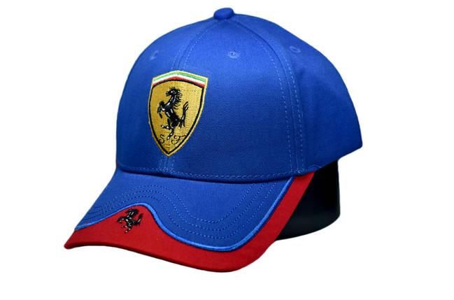Бейсболка Classic Ferrari (1118-20), фото 2