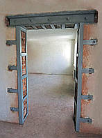 Устройство проёмов в кирпичных стенах и перегородках