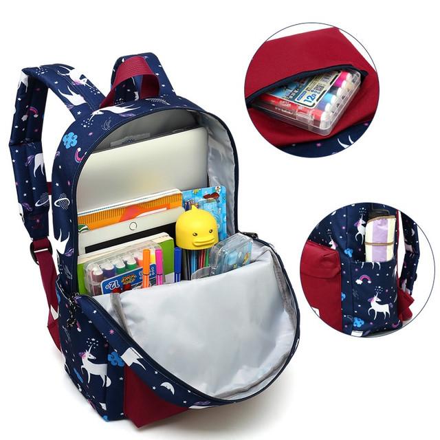 Детали школьного рюкзака