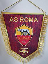 Вимпел тканинної з бахромою FC Roma