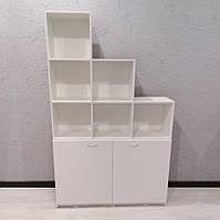 Стеллаж с полочками и ящиками в салон красоты, шкаф для бумаг