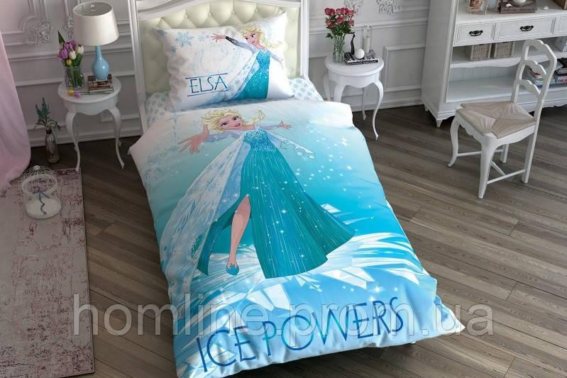 Постельное белье Tac Disney Frozen Ice Power 160*220 подростковое