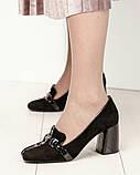 Шикарные эксклюзивные замшевые женские туфли Mario Muzi, фото 4