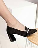 Шикарные эксклюзивные замшевые женские туфли Mario Muzi, фото 5