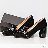 Шикарные эксклюзивные замшевые женские туфли Mario Muzi, фото 6