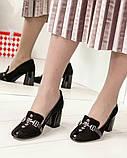 Шикарные эксклюзивные замшевые женские туфли Mario Muzi, фото 2