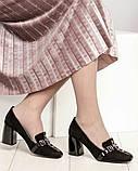 Шикарные эксклюзивные замшевые женские туфли Mario Muzi, фото 9